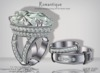 Romantique Plt Wedding Ring Set by for Bento Hand Chop Zuey Couture Jewelllery