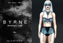 (BYRNE) Dominique Outfit- Blue