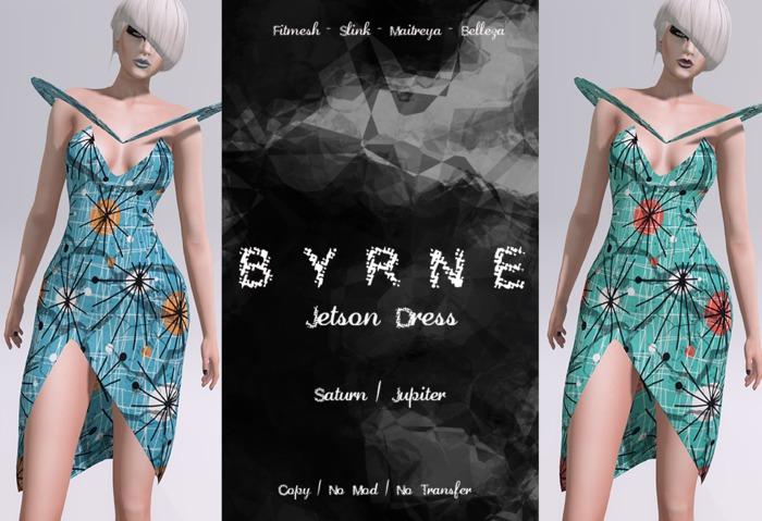 (BYRNE) Jetson Dress-SATURN/JUPITER