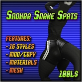 [T.T.D.] Snokra Snake Spats
