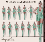 SEmotion Woman's Special Walks Pack - 15 walking animations