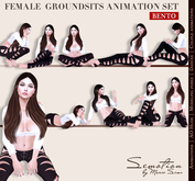 SEmotion Female GroundSits Set - 10 HQ Bento Animations
