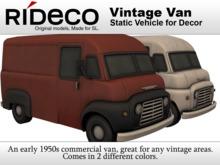 RiDECO - Vintage Van