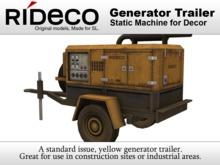 RiDECO - Generator Trailer