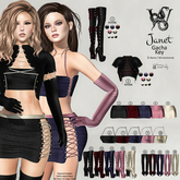 #14 Wicca's Wardrobe - Janet Short Boots [Rose] [GACHA]