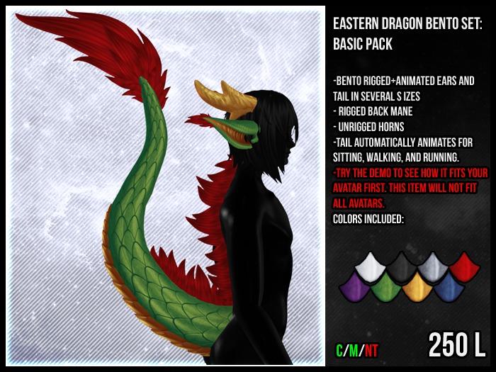 [M.O.R] eastern dragon bento set : BASIC