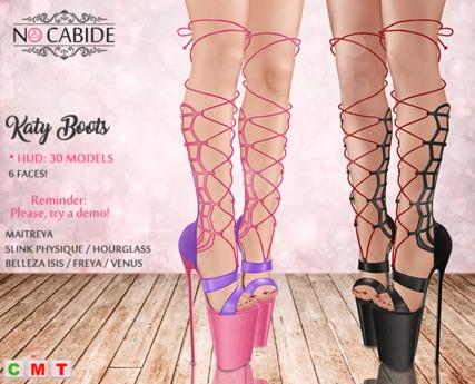 :: No Cabide :: Katy Boots - HUD 30 Models