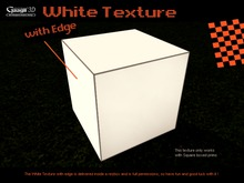 Gaagii - White Texture with Edge