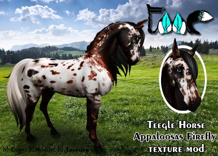 [FMC] Teegle Horse mod - Appaloosas Firefly
