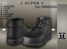Alpha:.Shoes  #2#    MALE DEMO