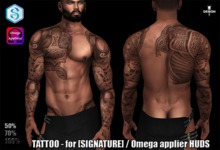TATTOO  - for [SIGNATURE] /  Omega applier HUDS 61