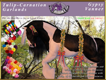 *E* Tulip Carnations Garlands Set [BOXED] Gypsy Vanner