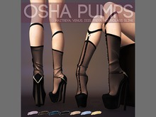 Pure Poison - Osha Pumps Ad - ons for Isis, Freya, Maitreya, Hourglass High Feet