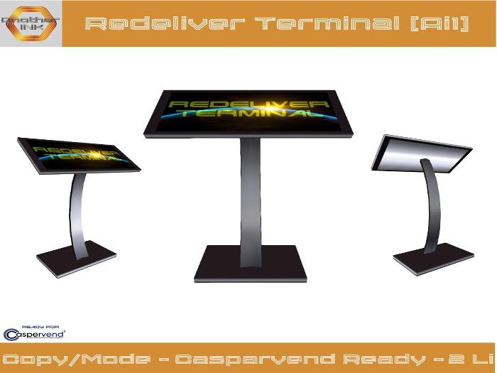 Redeliver Terminal [Ai1] - CasperVend ready