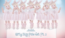 {Blubb} Girly Pose Set pt 2