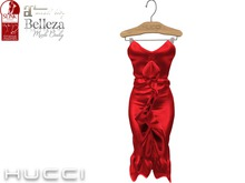 ::HH:: Hucci Ecaille Dress - Red