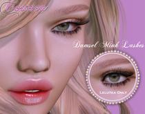 {CowTea} Damsel Mink Eyelashes [Lelutka] - Gift