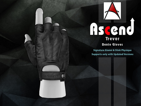 //Ascend// Trevor Bento Glove - Black