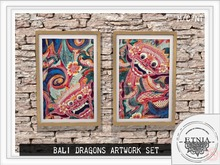 *WEAR* [ETNIA]  Bali Dragon (SET)