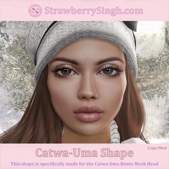 StrawberrySingh.com Catwa-Uma Shape