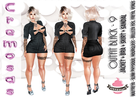 .:: Cremosas Store ::. Outfit Black - 9