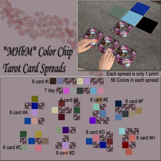 *MHbM* Color Chip Tarot Cards