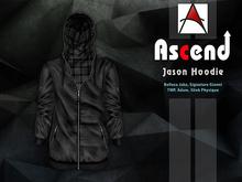//Ascend// Jason Hoodie - Black