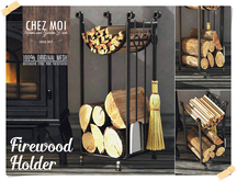 Firewood Holder ♥ CHEZ MOI