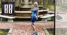 [HF] Wrap Bandage Dress w/ Leather HUD MAITREYA XP