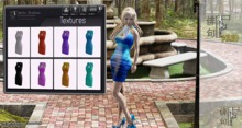 [HF HUD] Wrap Bandage Dress Solid Texture HUD ONLY
