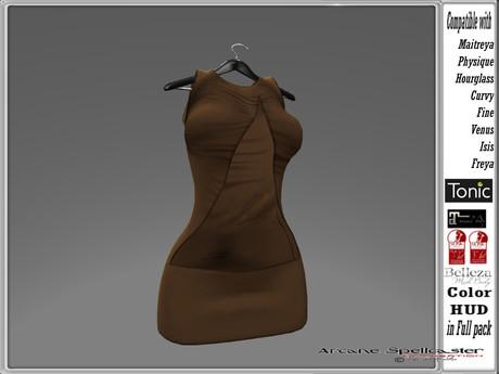 bag dress Sayaka brown *Arcane Spellcastare*Ak-Creations