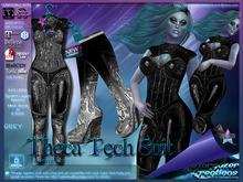 [Stargazer Creations] Theca Tech Metallic - Grey