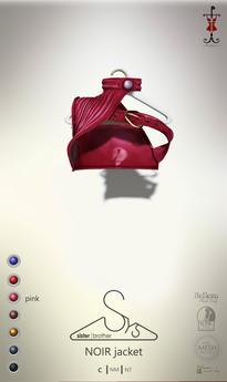 [sYs] NOIR jacket (body mesh) - pink GIFT <3