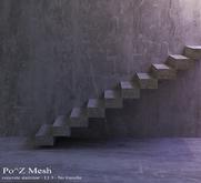Po^Z Mesh -  Concrete staircase