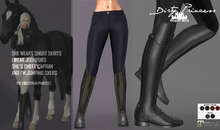 *Dirty Princess* The Equestrian Princess Boots/Breeches  NAVY