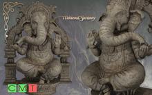 [MF] Ganesh the elephant headed God statue (boxed)