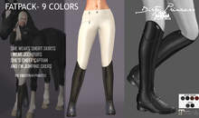 *Dirty Princess* The Equestrian Princess Boots/Breeches FATPACK
