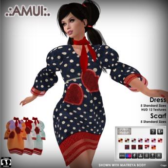 "PROMO! .:AMUI:. ""Agatha"" Dress - SPECIAL VALENTINE'S DAY"