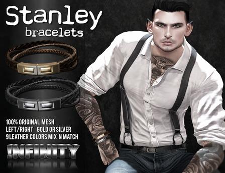 !NFINITY Stanley Bracelet - Silver