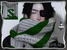 +FATHER+ - Hogwarts House Scarves - Slytherin