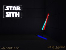 -NN- Mesh backdrop - Star Sith