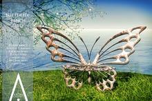 .AiShA. Butterfly Bench Rusty
