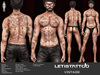 Letis Tattoo :: Vintage :: MM17014 ::  WearMeToUnpack