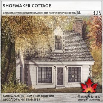 Trompe Loeil - Shoemaker Cottage [mesh]