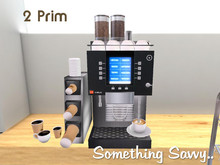 {{Something Savvy}} Coffee Machine (wear to unpack)