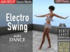 A&M: Electro Swing - dance animation (BENTO hands) :: #TAGS - Booty Swing, Parov Stelar, retro, vintage, twist