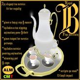 ***Royalty English Tea Service*