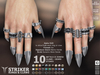 **RE** Striker Rings & Claws - Signature Gianni - SLink Dynamic Male