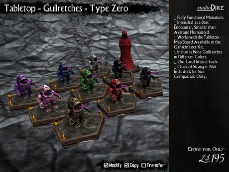 /studioDire/ Tabletop - Gullretches - Type Zero