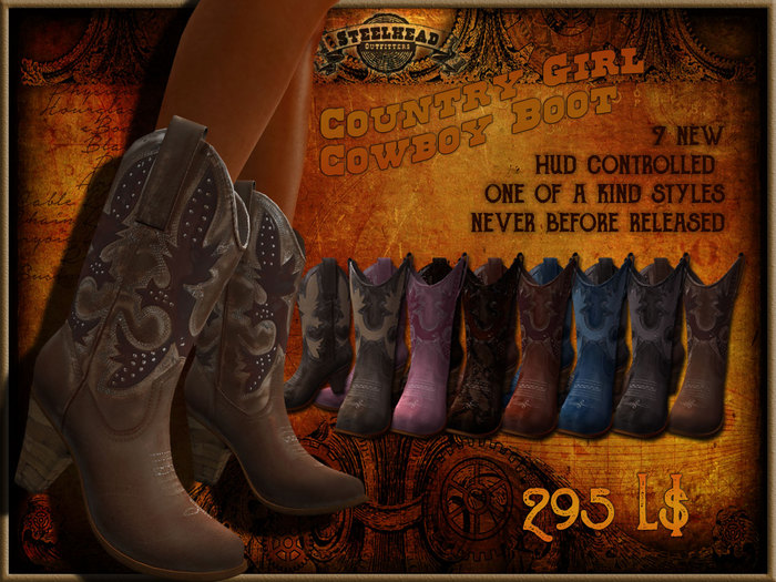 Steelhead Vintage Store Edition Cowboy Boot